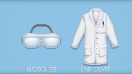Applied Science Lab Coat and Goggles