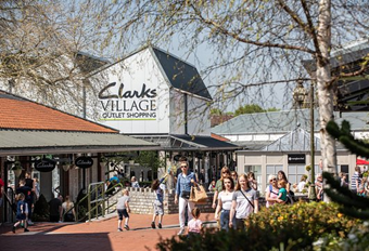 Residential Students, Trips  Clarks Village, Street (Shopping)