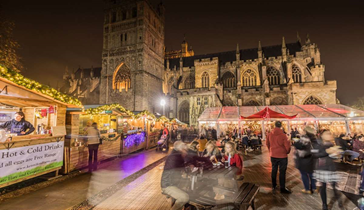 Residential Students, Trips   Exeter Christmas Market
